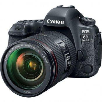 Цифровий фотоапарат Canon EOS 6D MKII 24-105 IS STM kit (1897C030)