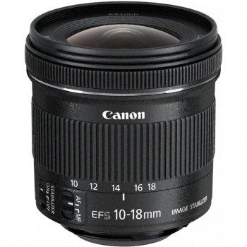 Об'єктив Canon EF-S 10-18mm f/4.5-5.6 IS STM (9519B005)