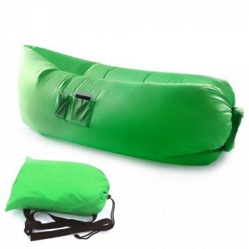 Гамак Надувной Лежак Masslinna Зеленый (NTG130578MS)