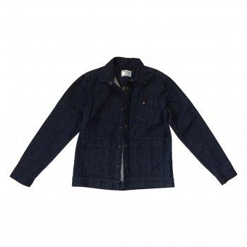 Джинсова куртка Jack & Jones Темно-синя 04400697