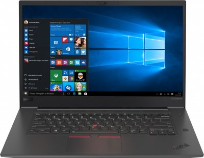 Ноутбук Lenovo ThinkPad X1 Extreme (20MF000SRT)