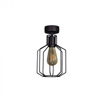 Потолочный светильник Лофт Skarlat Проволока Фигурная Черный d - 175 mm (LS 1210-1G)