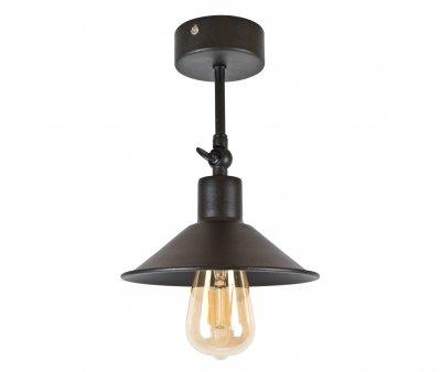 Потолочный светильник Лофт Skarlat Металл Черный d - 185 mm (LS 8610-185-1L)