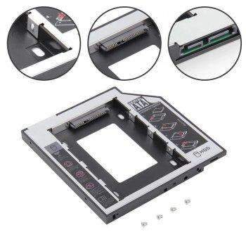 """HDD Caddy 9,5 мм перехідник для 2,5 """" HDD/SSD (HDDC95)"""
