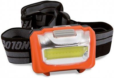 Ліхтарик налобний Lineaeffe LED 160 люменів (7599384)