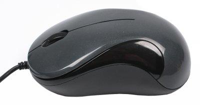 Миша A4Tech N-321-1 USB Glossy Grey (4711421864978)