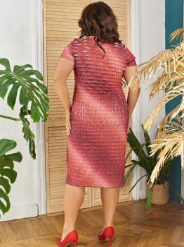 Платье ALDEM 1630/1 Терракотовое