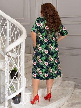 Платье ALDEM 2008/2 Зеленое