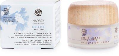 Легкий-крем для лица Naobay Detox Кислородный 50 мл (8436568901220)