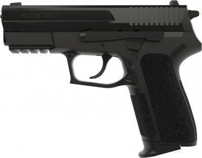 Пістолет стартовий Retay 2022 9 мм Чорний (11950611)