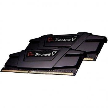 Модуль пам'яті для комп'ютера DDR4 16GB (2x8GB) 4000 MHz RipjawsV Black G. Skill (F4-4000C15D-16GVK)