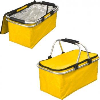 Дорожній термокошик Easy Gifts 20 л Жовтий (2000992399753)