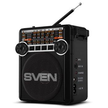 Радіоприймач Sven SRP-355 Black