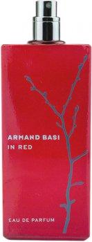 Тестер Парфюмированная вода для женщин Armand Basi In Red 100 мл (8427395947284)
