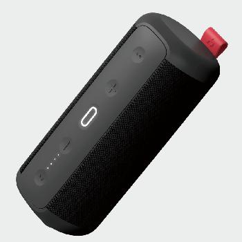 Водонепроникна ударостійка портативна колонка HAVIT HAKII CHEER black/red з NFC, підключенням TWS і функцією Power Bank (25369)