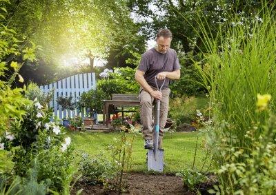 Лопата садовая штыковая Gardena NatureLine D-образная рукоятка 117 см (17000-20.000.00)