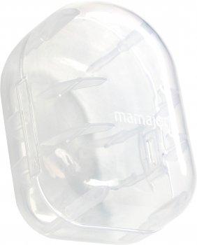 Силиконовые соски для стеклянных бутылок Mamajoo №2(М) в контейнере для хранения 6 мес+ 2 шт (8697767124463)