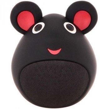 Детская Портативная Колонка Мышка bluetooth (MB-M919(Black))
