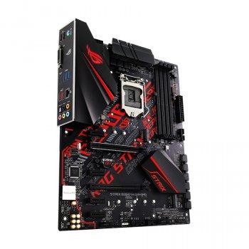 Мат. плата MB Asus ROG STRIX B360-H GAMING (iB360/s1151/4xDDR4 2666MHz/2xPCIe x16/4xPCIe x1/2x M. 2 port/6xSATA3/ROG Technology Glan/4xUSB3.1/2xUSB2.0/DVI, HDMI/Audio 8ch/ATX)