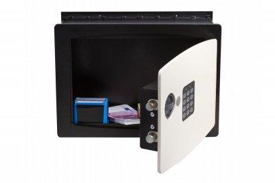 Вбудований сейф у стіну GUTE BS-25 Чорний (070223)