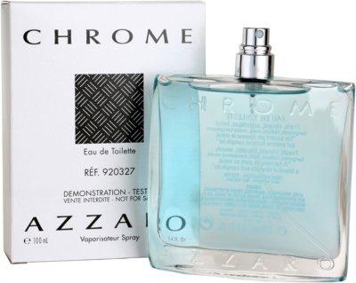 Тестер Туалетная вода для мужчин Azzaro Chrome 100 мл (3351500920327)