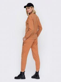Спортивный костюм Dressa 52992 Коричневый
