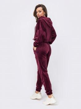 Спортивный костюм Dressa 53008 Бордовый