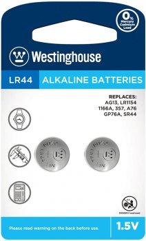 Щелочная батарейка Westinghouse Alkaline LR44 2 шт (889554001943)