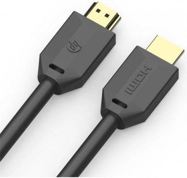 Кабель HP HDMI M - HDMI M V2.0 4K 60 Hz 1 м Black (DHC-HD01-01M)