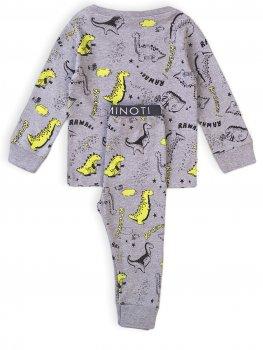 Пижама (футболка с длинными рукавами + штаны) Minoti Tb Pyj 1 17391-17392 Серая