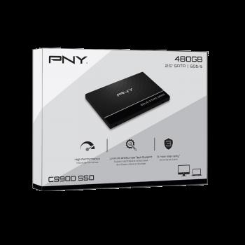 """Накопичувач 2.5"""" SSD 480GB PNY CS9000 (SSD7CS900-480-PB)"""