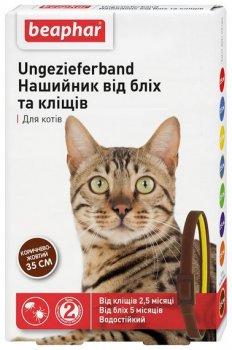 Нашийник Beaphar від бліх і кліщів для кішок 35 см (12164) (12164) (8711231121649)