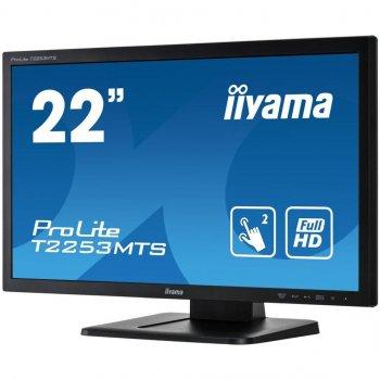 Монитор IIYAMA T2253MTS-B1 Black Touch Screen