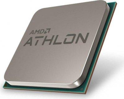 Процессор AMD AM4 Athlon 220GE Tray + Cooler 2x34 GHz Radeon Vega 3 1000 MHz L3 4Mb Raven Ridge 14 nm TDP 35W (YD220GC6FBMPK)