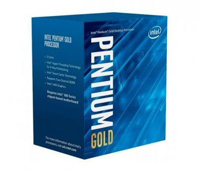 Процесор Intel Pentium Gold LGA1151 G5400 Box 2x37 GHz UHD Graphic 610 1050 MHz L3 4Mb Coffee Lake 14 nm TDP 54W BX80684G5400