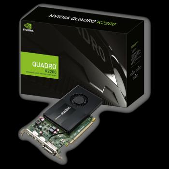 Видеокарта PNY nVidia Quadro K2200 4Gb DDR5 128-bit DVI-I/2xDP VCQK2200-PB (197277)