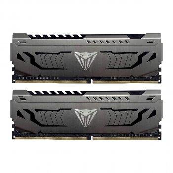 Оперативная память Patriot Viper Steel 32Gb DDR4 с радиатором Black (PVS432G320C6K)
