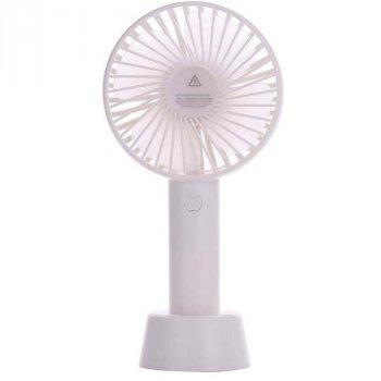 Портативний ручний вентилятор Memos handy mini fan білий