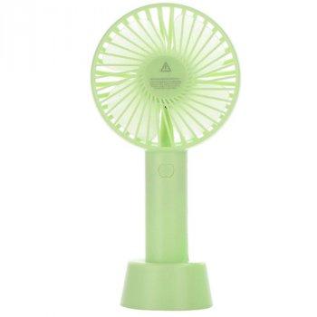 Портативний ручний вентилятор Memos handy mini fan салатовий