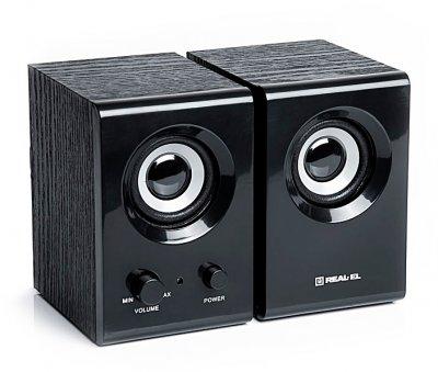 Акустична система Real-El S-210 Black