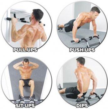 Турнік дверний Iron Gym Plus (IG00068)