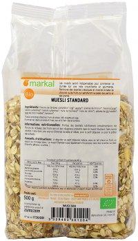Мюсли Markal Standard органические 500 г (3329483301204)
