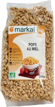 Воздушные пшеничные зерна Markal с медом органические 200 г (3329483512006)