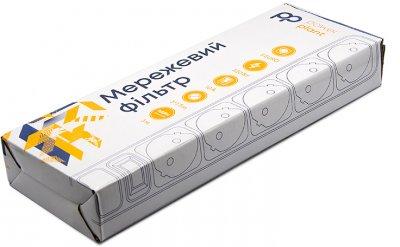 Мережевий фільтр PowerPlant 3 м 5 розеток (PPSA10M30S5B)