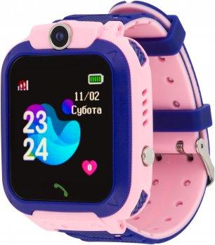 Смарт-годинник Atrix Smart Watch iQ1500 Aquatic Cam GPS Pink (iQ1500 Pink)
