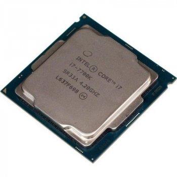 Процесор Intel Core i7 7700K 4.2 GHz Socket 1151 (BX80677I77700K) Б/У