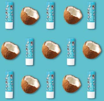 Relouis, БАЛЬЗАМ-ДОГЛЯД для губ iCARE lip balm, Coconut, 4,4 г (4810438023115)