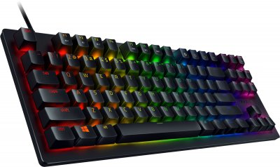 Клавиатура проводная Razer Huntsman TE Red Switch RU USB (RZ03-03081000-R3R1)
