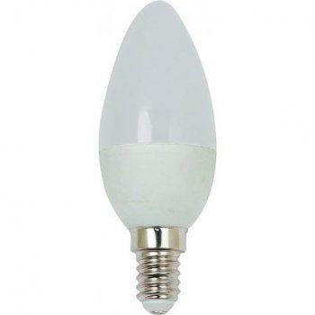 LED лампочка VELMAX V-C37-CL, E14, 6W, 540Lm, 4100K (030500640)