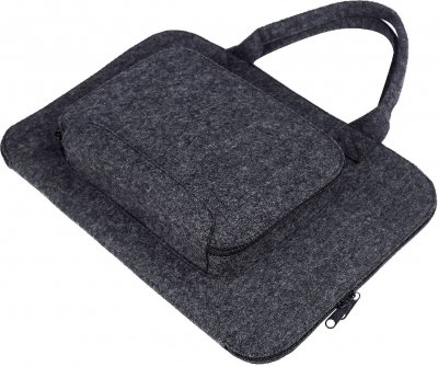 "Сумка для ноутбука Gmakin GS02-15 для Macbook Pro 15"" Black (GS02-15)"